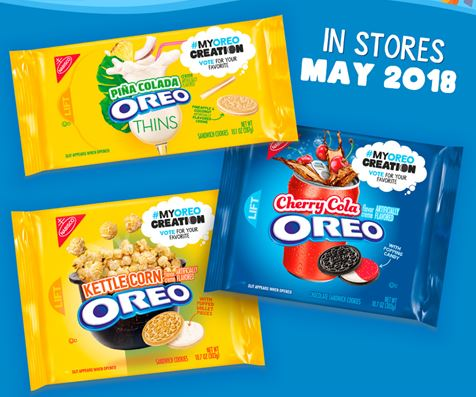 3 New Oreo Flavours Hitting the Shelves in 2018!
