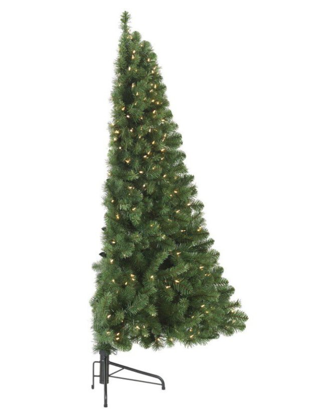 Introducing The Half Christmas Tree For Small Spaces