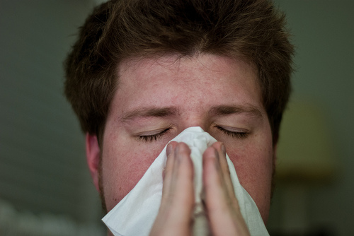 Man Ruptures Throat By Holding In His Sneeze
