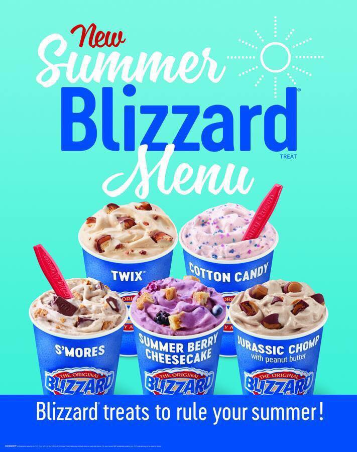 Blizzards in the Summer