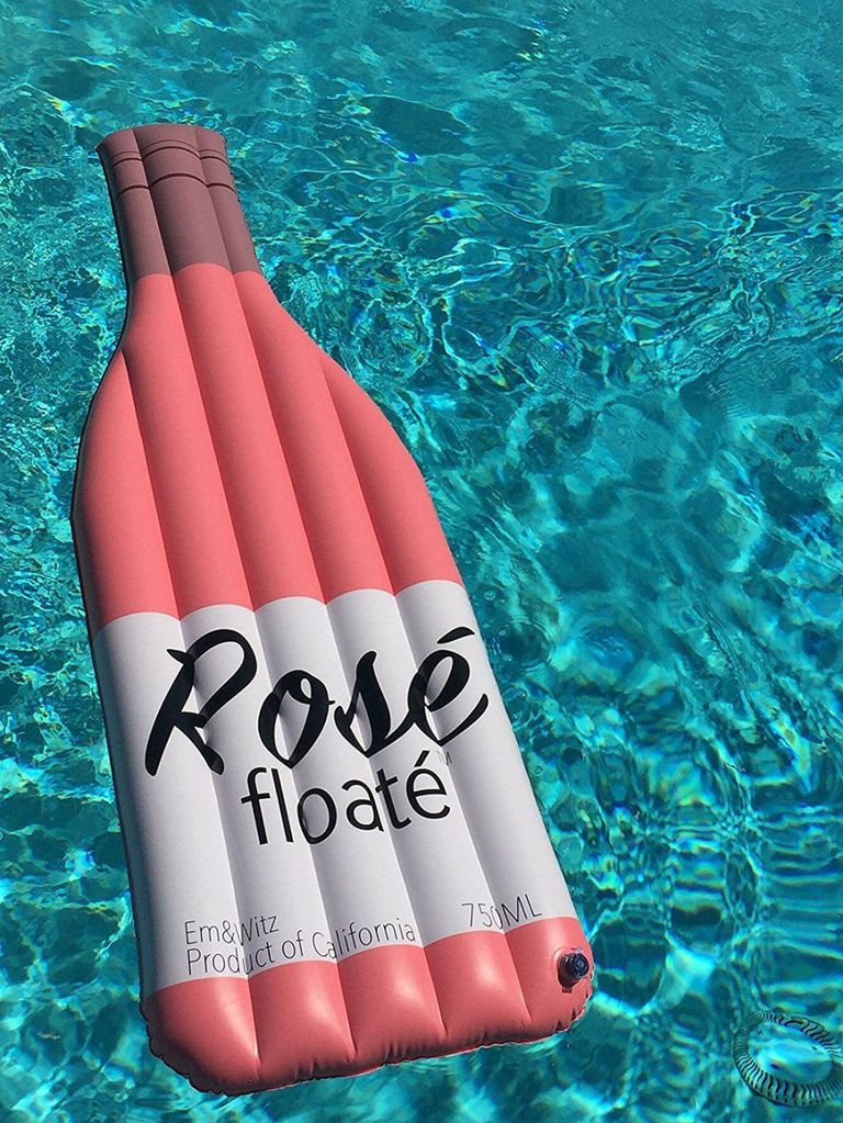 Float Down The Old Man River On A Wine Bottle