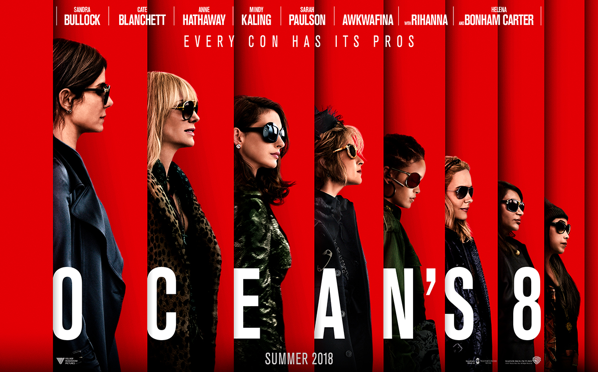 Ocean's 8 Steals Weekend Box Office