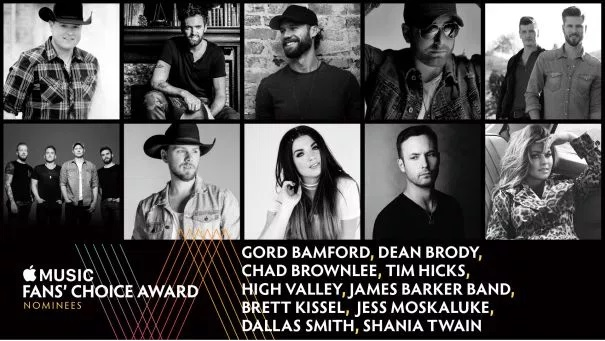 And the CCMA Nominees Are...