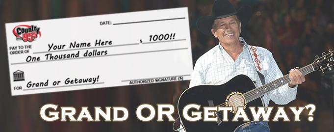 Grand or Getaway $1000 Winner #7!