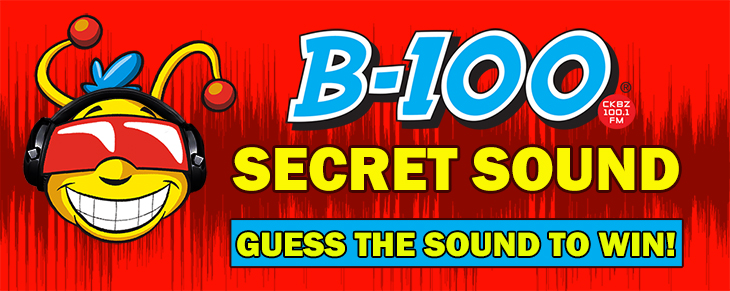 Listen to Win – B100's Secret Sound