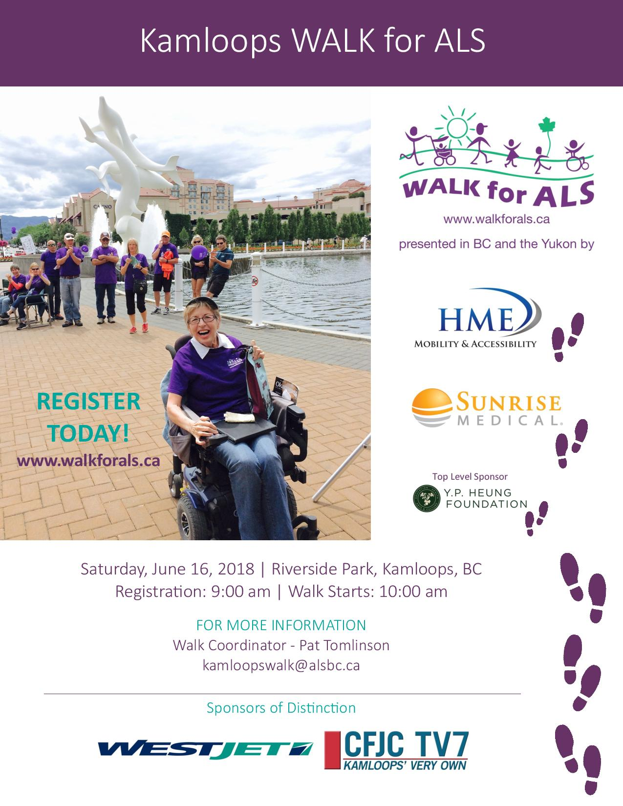 The WALK for ALS | B100