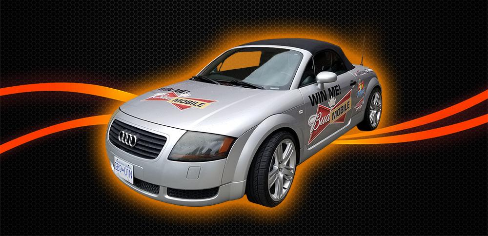 B100 presents The Summer Budmobile