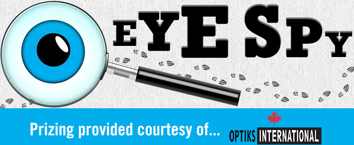 EYE SPY – Win $100 to Optiks International