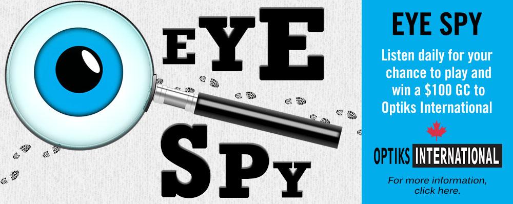 Feature: http://www.b100.ca/eye-spy/