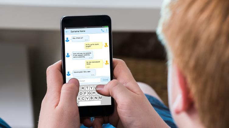 A listener sent us a creepy text