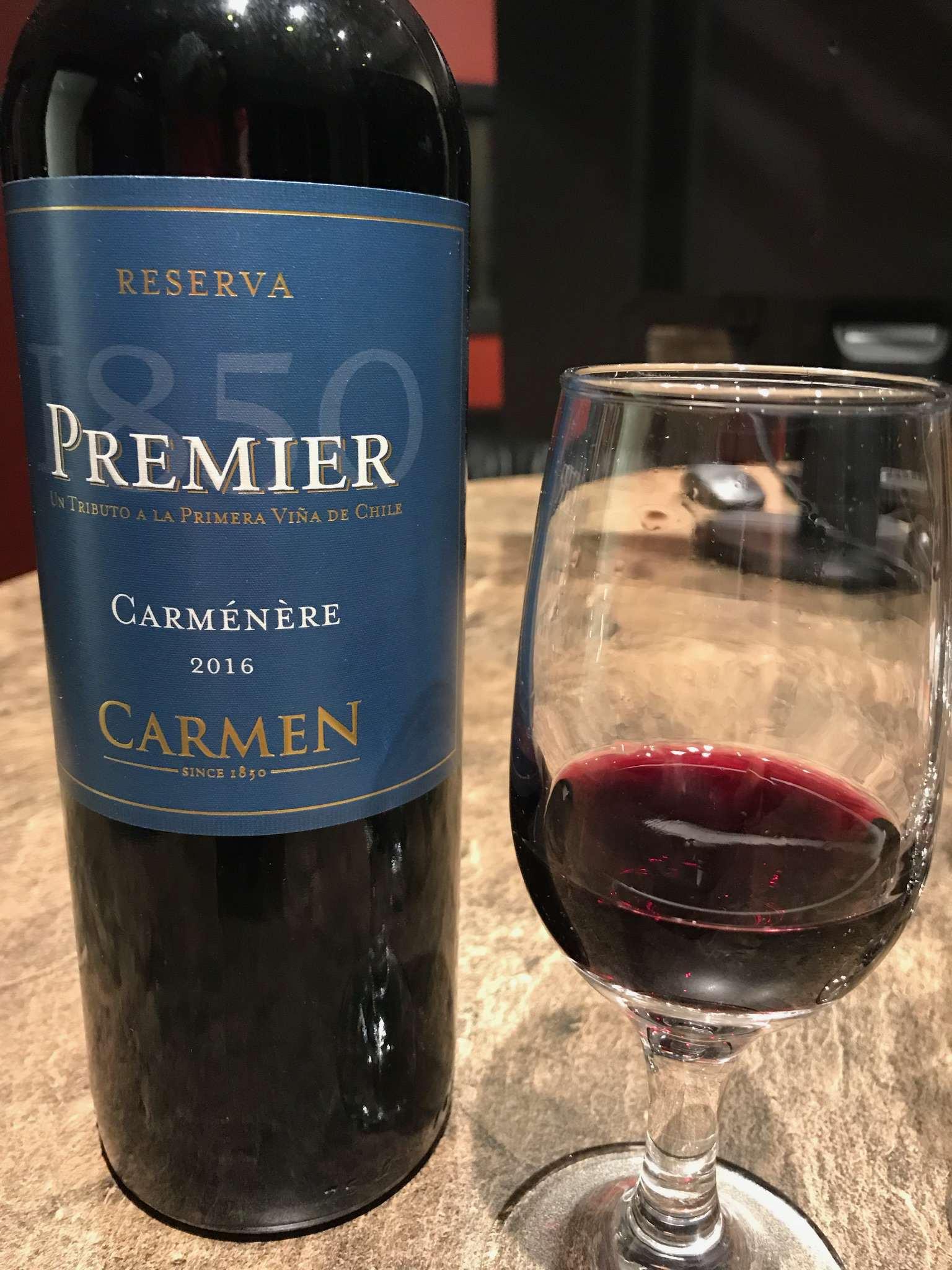 Kết quả hình ảnh cho CARMEN PREMIER CARMENERE