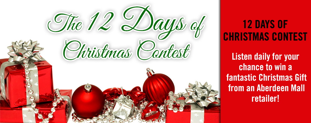 B100 presents the 12 Days of Christmas