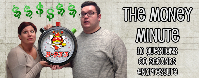 Marty P. Won $2000 With The Money Minute!!!!!