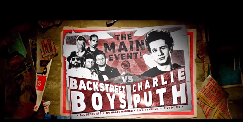 Drop the Mic: Charlie Puth vs Backstreet Boys