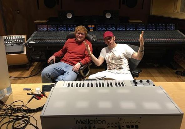 LISTEN: Eminem ft. Ed Sheeran, Kehlani and MORE!