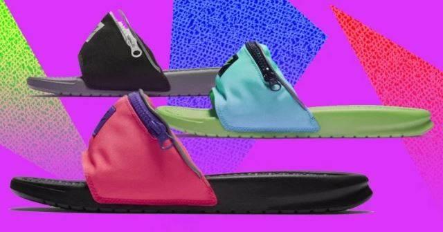 Nike will be releasing the 'fanny pack' flip-flops
