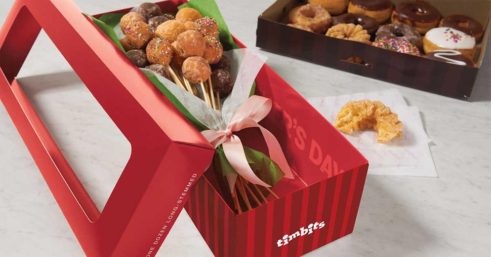 Timbit Bouquets from Tim Hortons!!