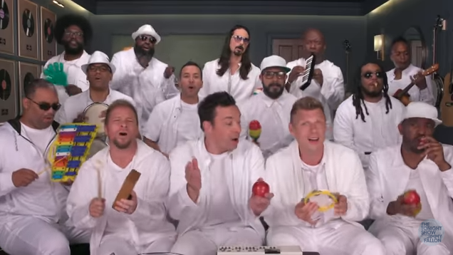 Backstreet Boys 'I Want It That Way' with Classroom Instruments