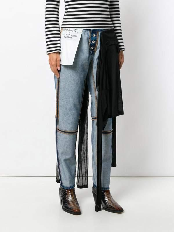 Inside Out Jeans Are a TREND