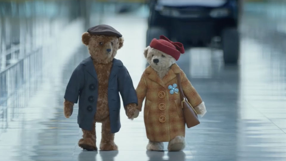 The new Heathrow bears Christmas commercial will give you all the feels