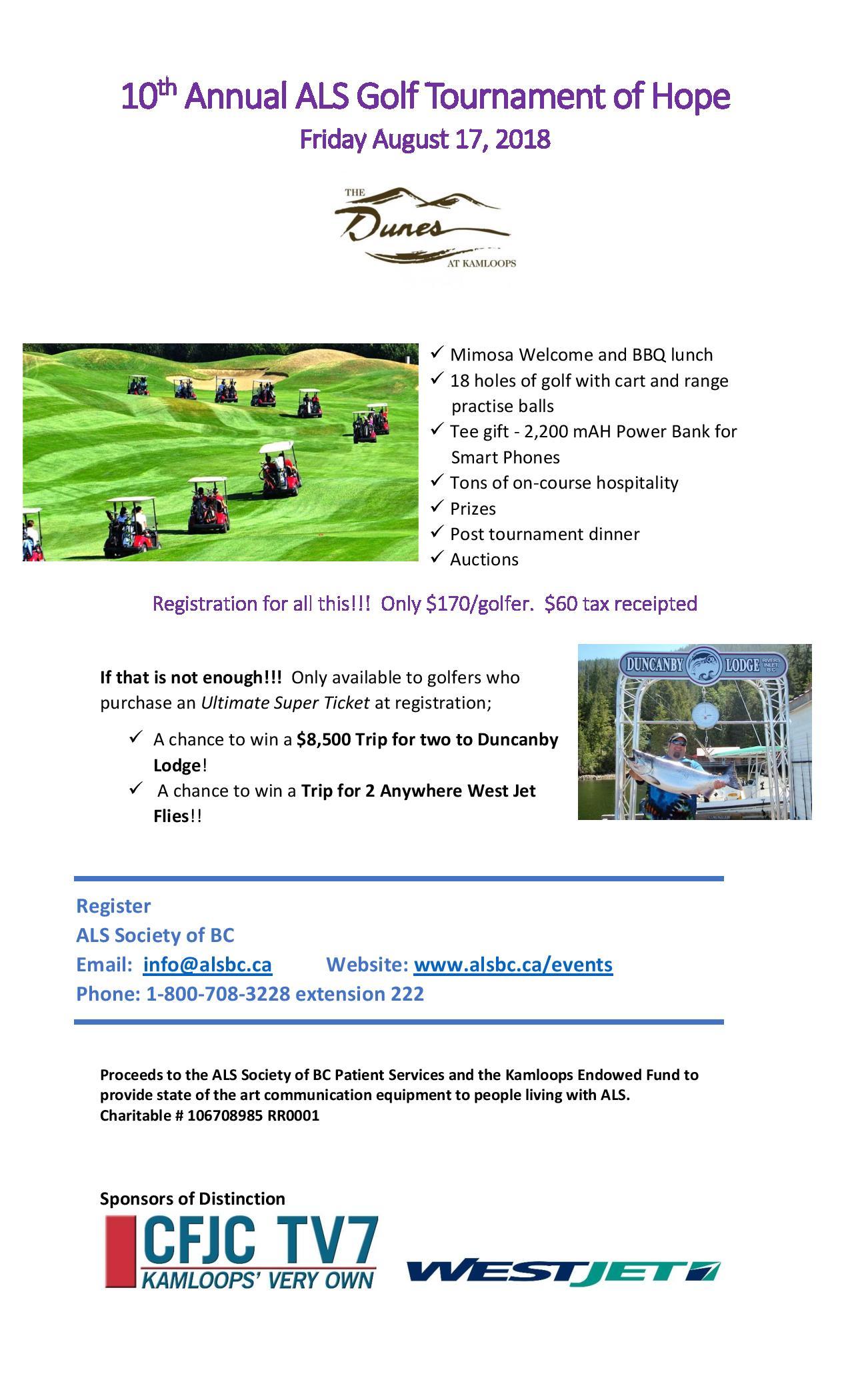 10th Annual ALS Golf Tournament of Hope | 98 3 CIFM