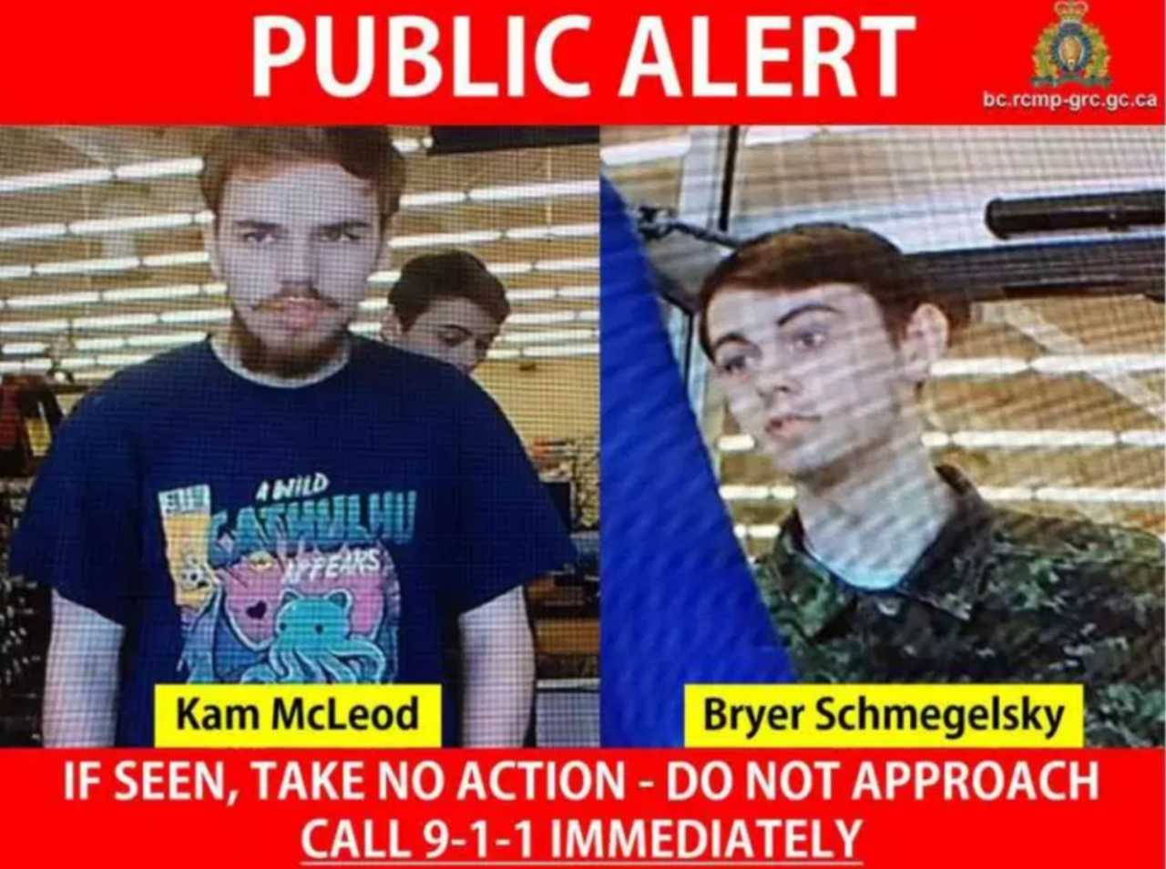 OPP Investigate Possible Sightings of BC Murder Suspects