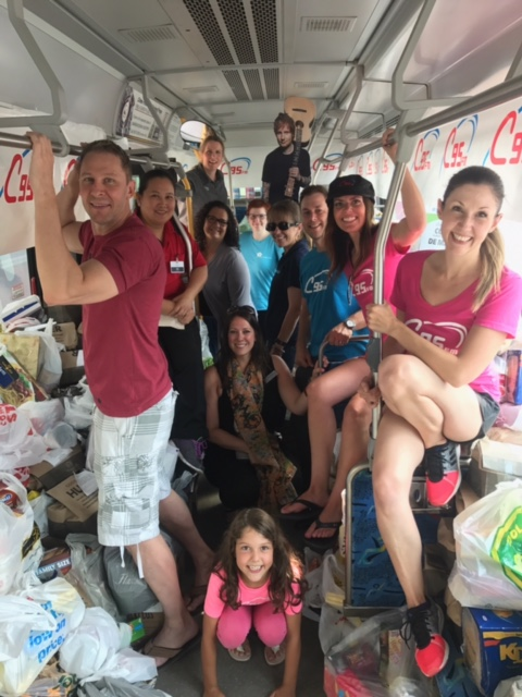 C95's Fed by Ed Raises 8,535 Pounds of Food!