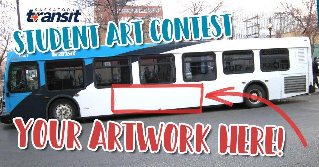 Saskatoon Transit Student Art Contest