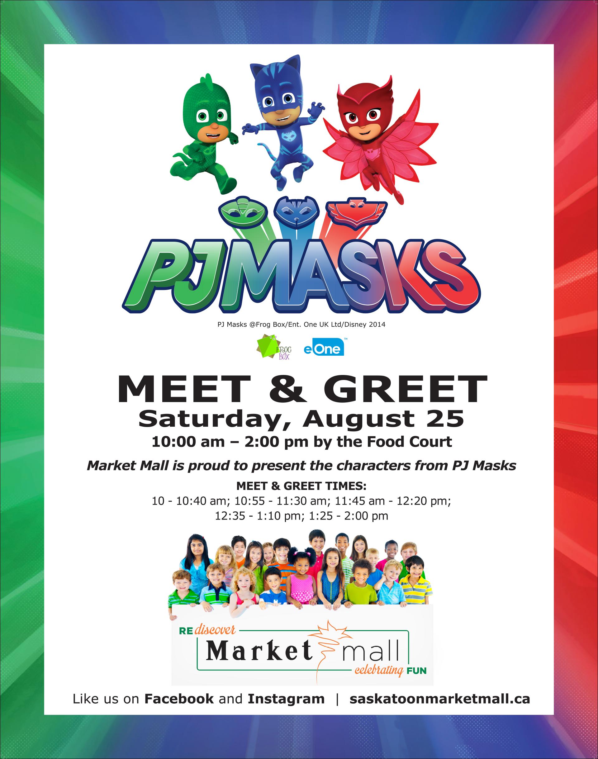PJ Masks Meet & Greet