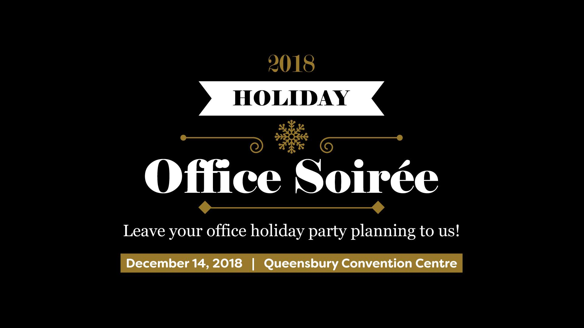 Win a Holiday Office Soiree