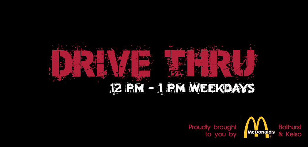 Feature: http://www.brockfm.com.au/the-drive-thru/