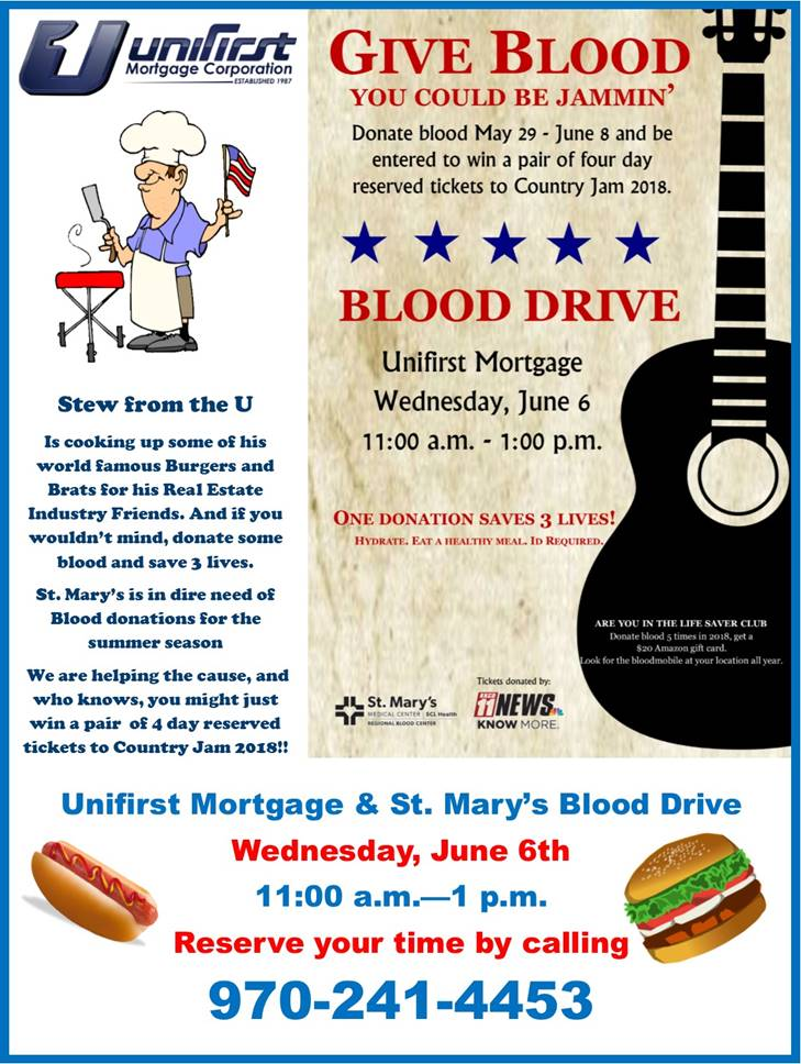 Unifirst Mortgage/St  Mary's Blood Drive | Magic 93 1