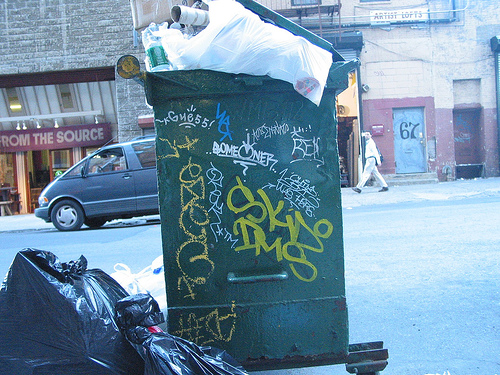 Tips for diving dumpster diving Friday on Magic