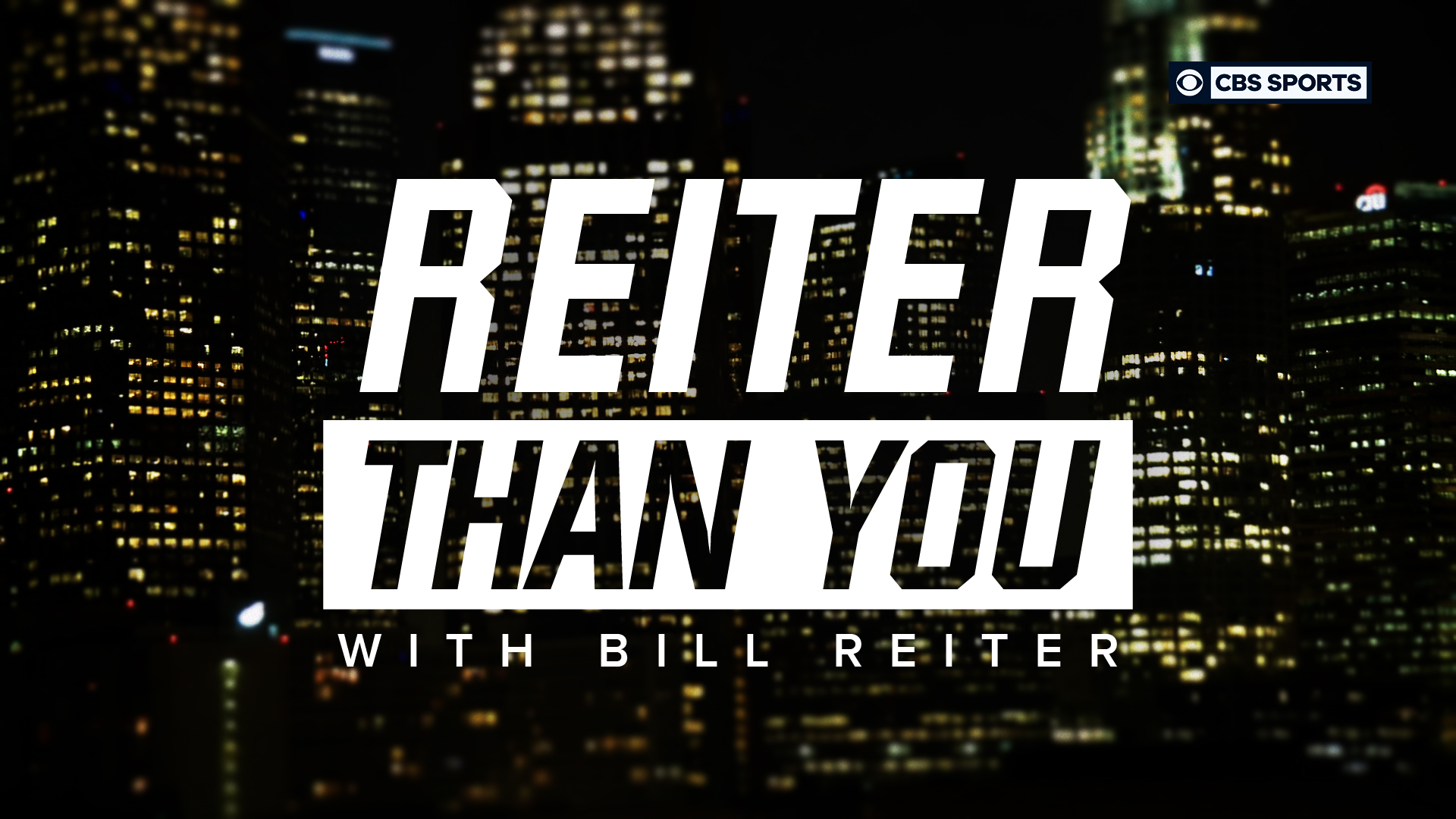 Reiter Than You w/ Bill Reiter