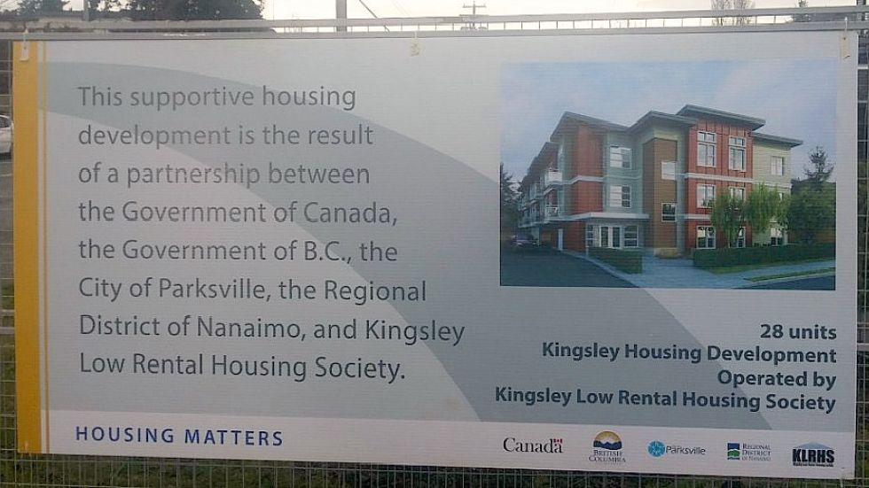 New affordable housing coming to Parksville