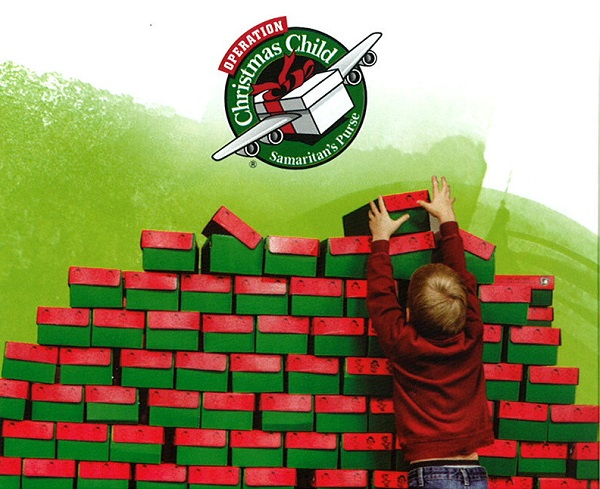 Image result for operation christmas child logo