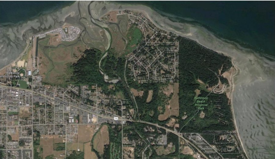 Waterfront walkway project still on City of Parksville radar