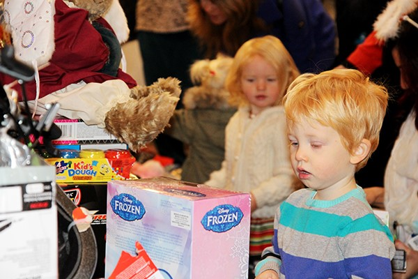 Toy drive in Parksville fuels Christmas spirit