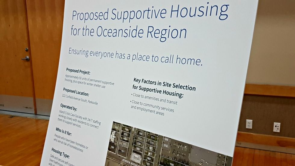 Familiar questions and concerns swirl around Parksville's proposed supportive housing project