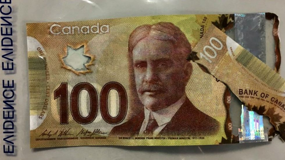 Oceanside RCMP report fake $100 bills floating around community