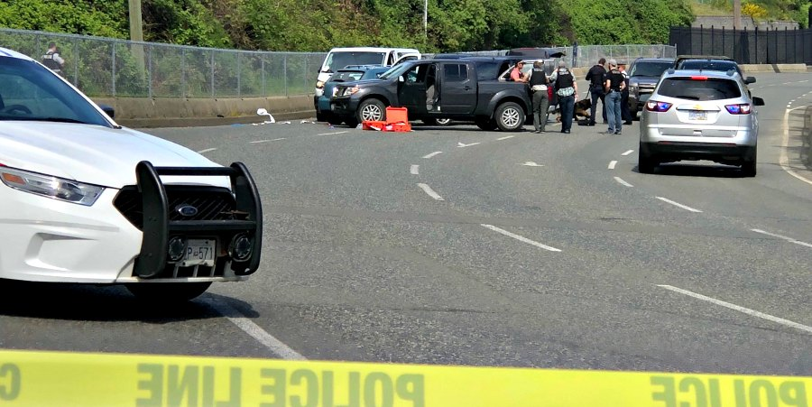 Police shoot and kill alleged carjacker at Departure Bay ferry terminal