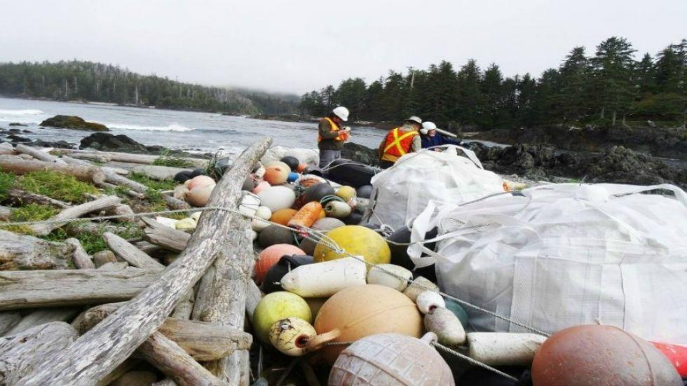 RDN efforts against ocean litter receives national support