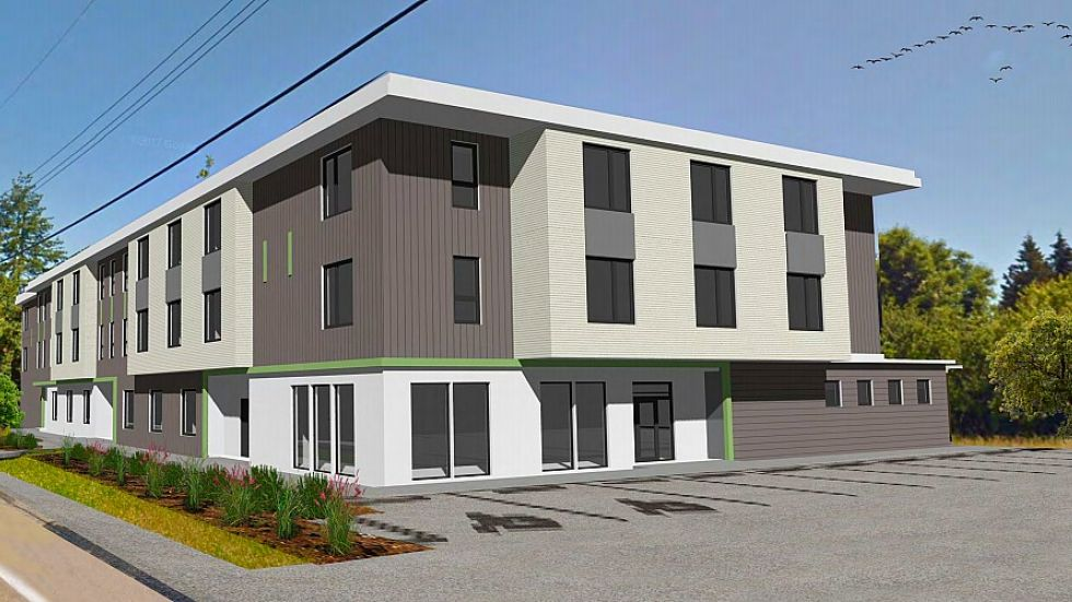 Rezoning approved for Parksville's $7M supportive housing project