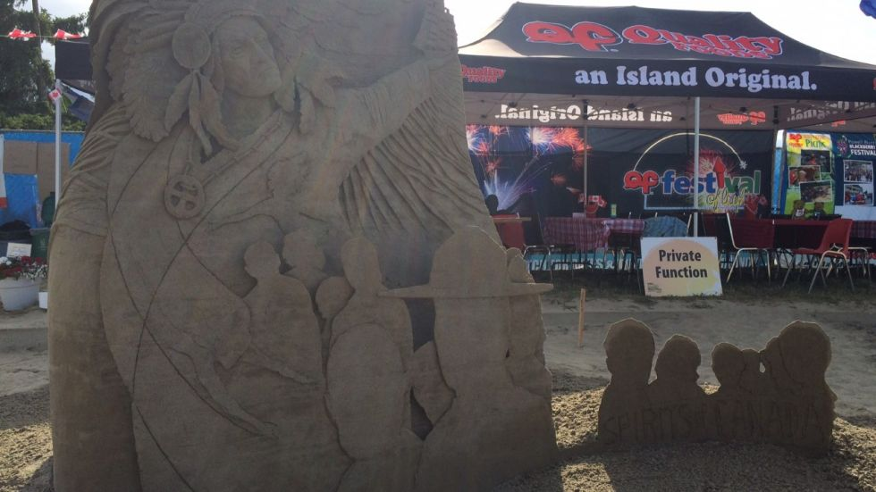 Sand castle supremacy: 100,000+ expected over month-long Parksville Beach Festival