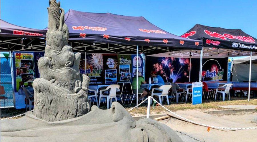 Attendance for Parksville Beach Festival, sand sculptures tops 100K for 4th straight year