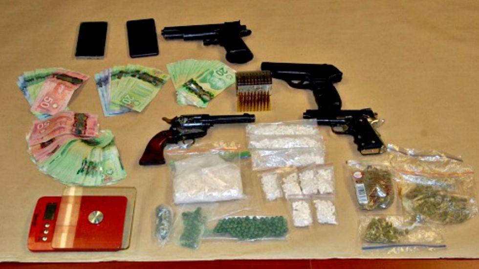 Suspected fentanyl, fake guns found in raid of Whiskey Creek 'drug house'