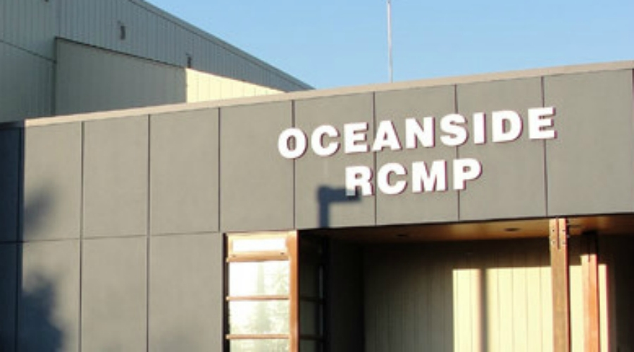 Nanoose neighbourhood aid Oceanside Mounties with arrest