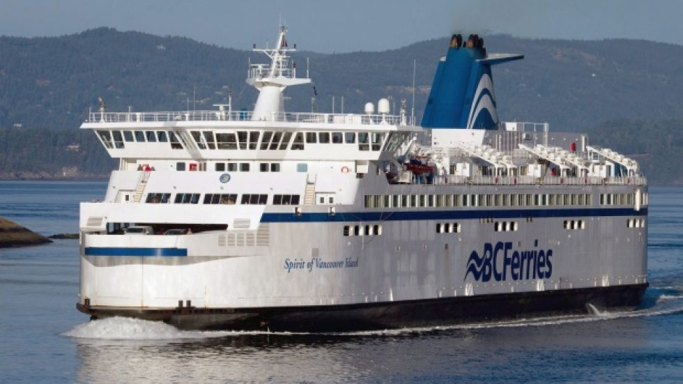 Man 'very cold,' but alive after going overboard on ferry bound for Nanaimo