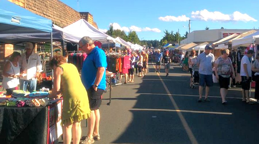 Big crowds expected as Parksville summer street market opens for 15th year