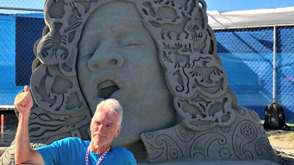 World's top sand sculptors shine in Parksville